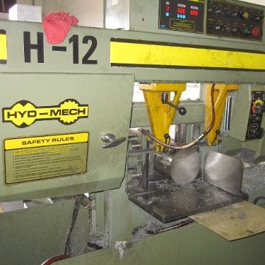 H-12 Saw Used for Metal Cutting Services in Mesa, AZ